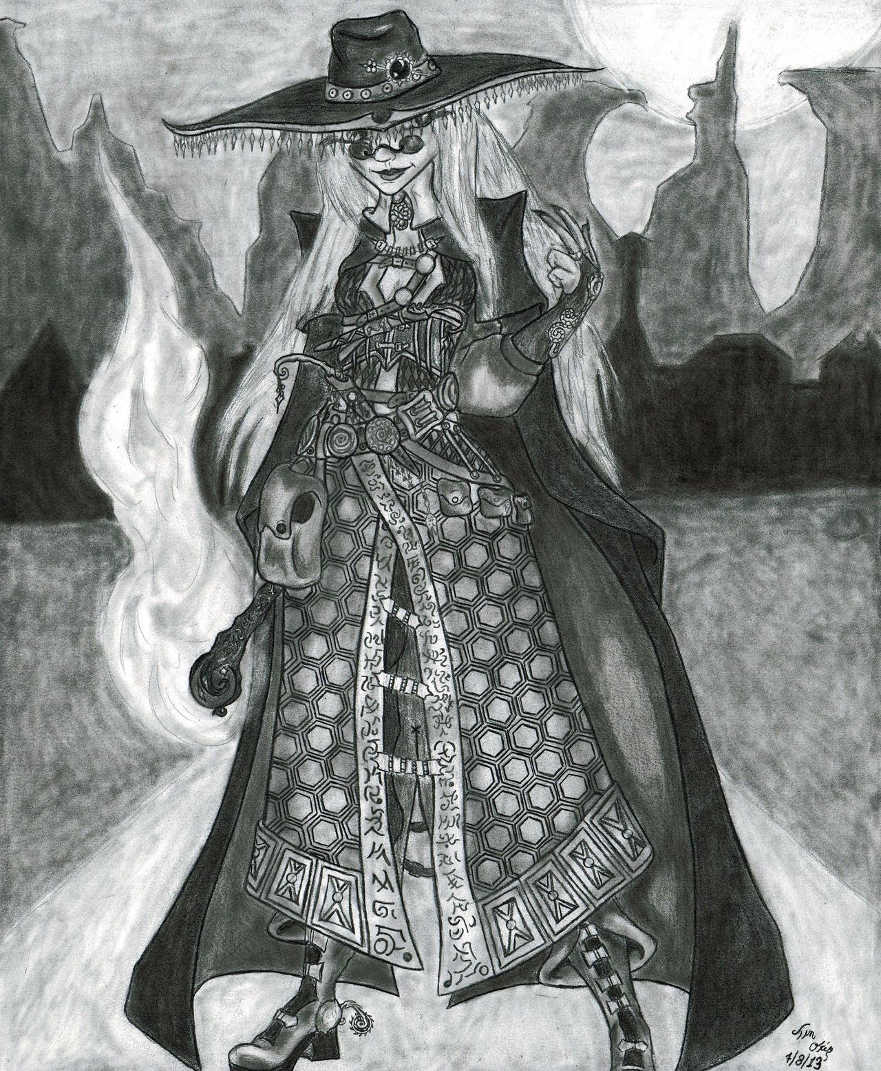 Spellslinger by Amoryl