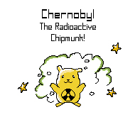 Chernobyl Radioactive Chipmunk by toadking07