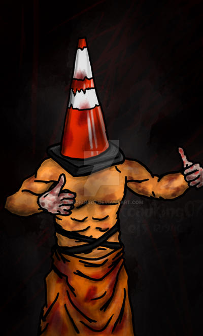Cone Head, Screeching Hill by toadking07
