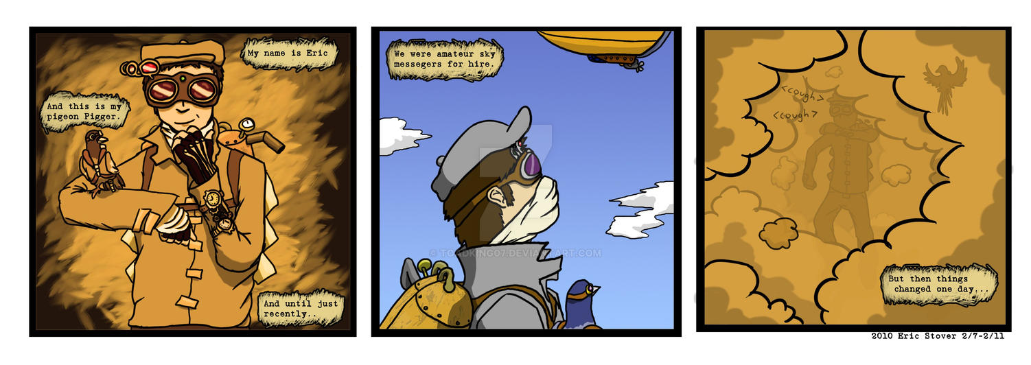 Start of A Comic by toadking07