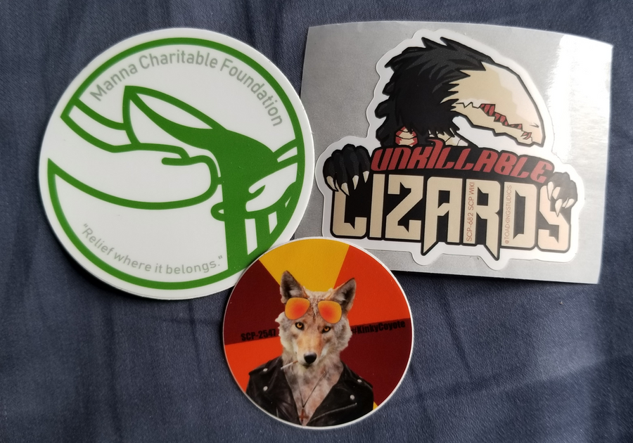 SCP Stickers #2 by toadking07