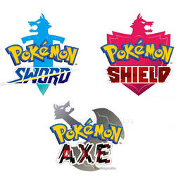 New Pokemon Games! SWORD SHIELD and AXE by toadking07