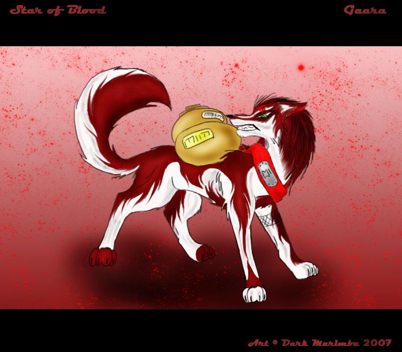 Gaara- wolf form by Dark-Marimba on DeviantArt Gaara As A Wolf