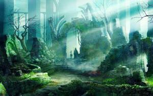 Haunted Ruins by ShivanaMoonflower