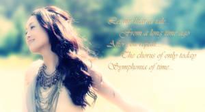 Kalafina - Wakana from Symphonia (banner)