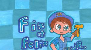 Wreck-It Ralph- Felix can fix it :P by PhantomLatte