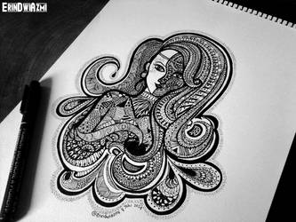 Zentangle by erindwiazmi