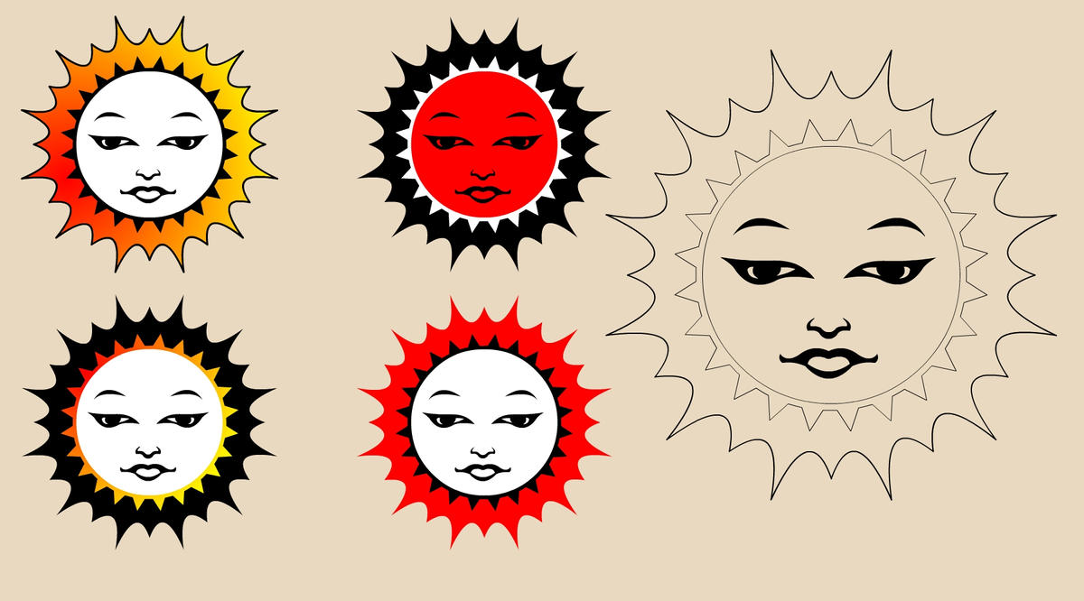 Sun Design Images sun tattoos