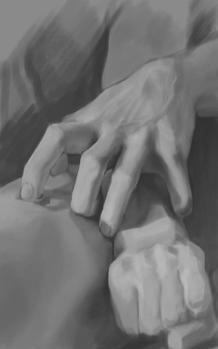 Hands study by UnlimitedForce
