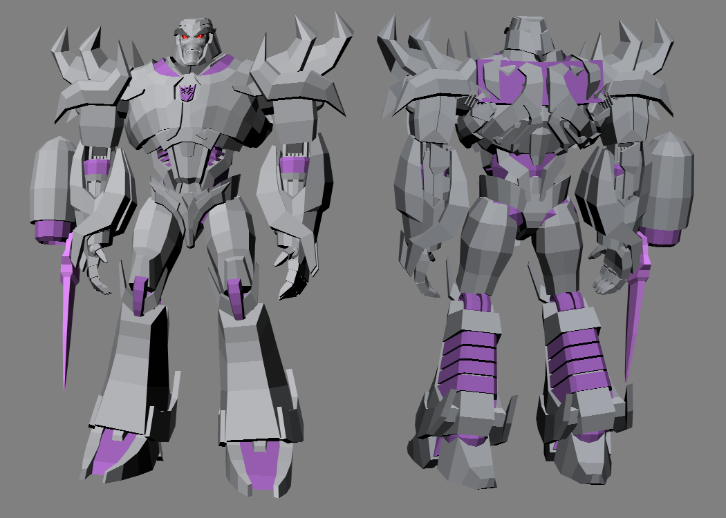 3D TFP Megatron progress - June 2016 by RazzieMbessai