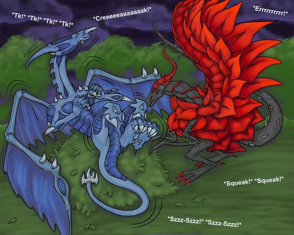 Dragon Nightmares by RazzieMbessai
