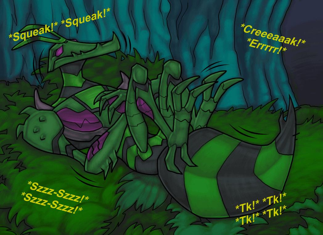 Waspinator having a nightmare by RazzieMbessai