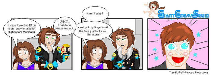 GES Comic - My Acting Face