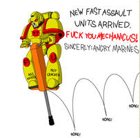 Angry Marines: New equipment by Empyronaut
