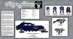 40k: The Legion of Honour (Imperial Mobsters)