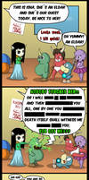 Chaos Kindergarten 13: Love hurts by Empyronaut