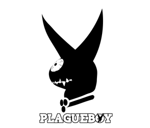 Plagueboy Logo With Font