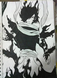Rogue Fairy tail drawing and inking by nickperriny7mai