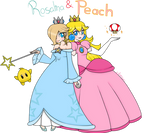 Rosalina and Peach
