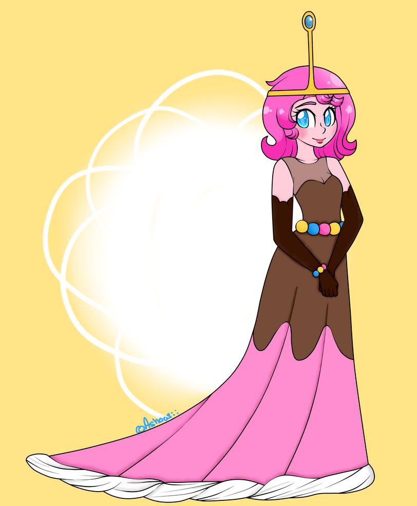 Princess BubbleGum Redraw by Ashourii