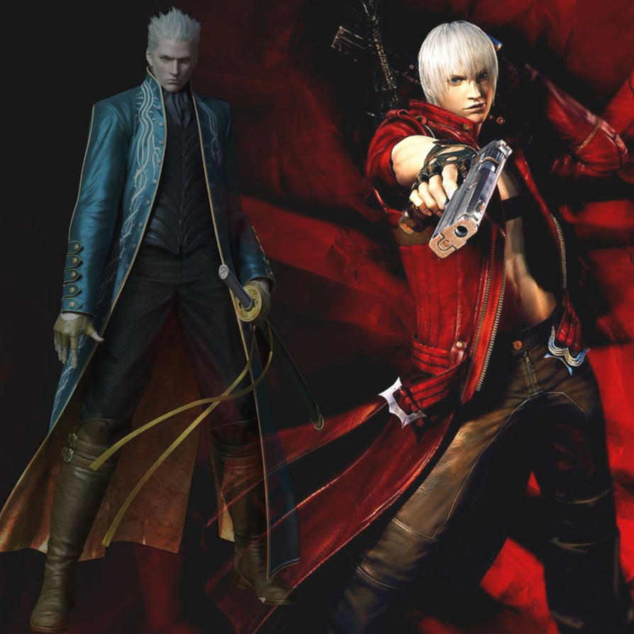 Dante And Vergil By Tani102 On DeviantART