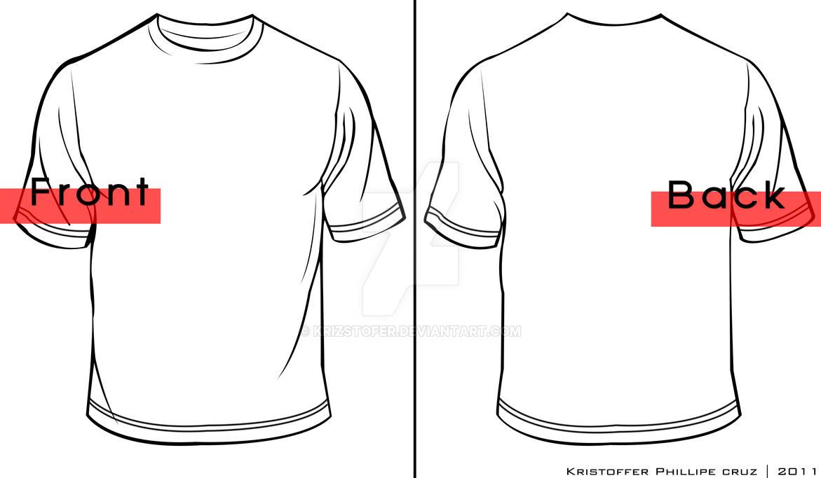 T shirt template by krizstofer on deviantart for Football t shirt cake template