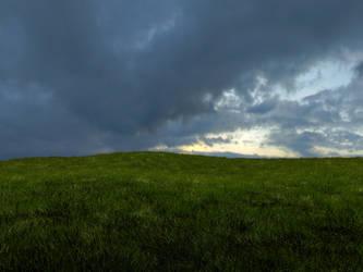 Grassy Scene Render by Astoroth