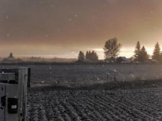 Idaho Snowfall by Astoroth