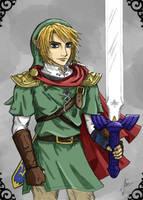 Hylia's Hero by ViridianRain