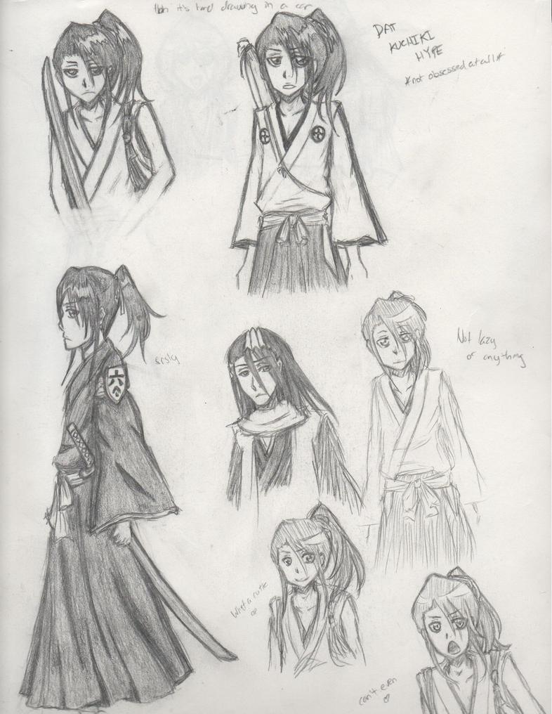 More Young Byakuya Spam by SaberTigre