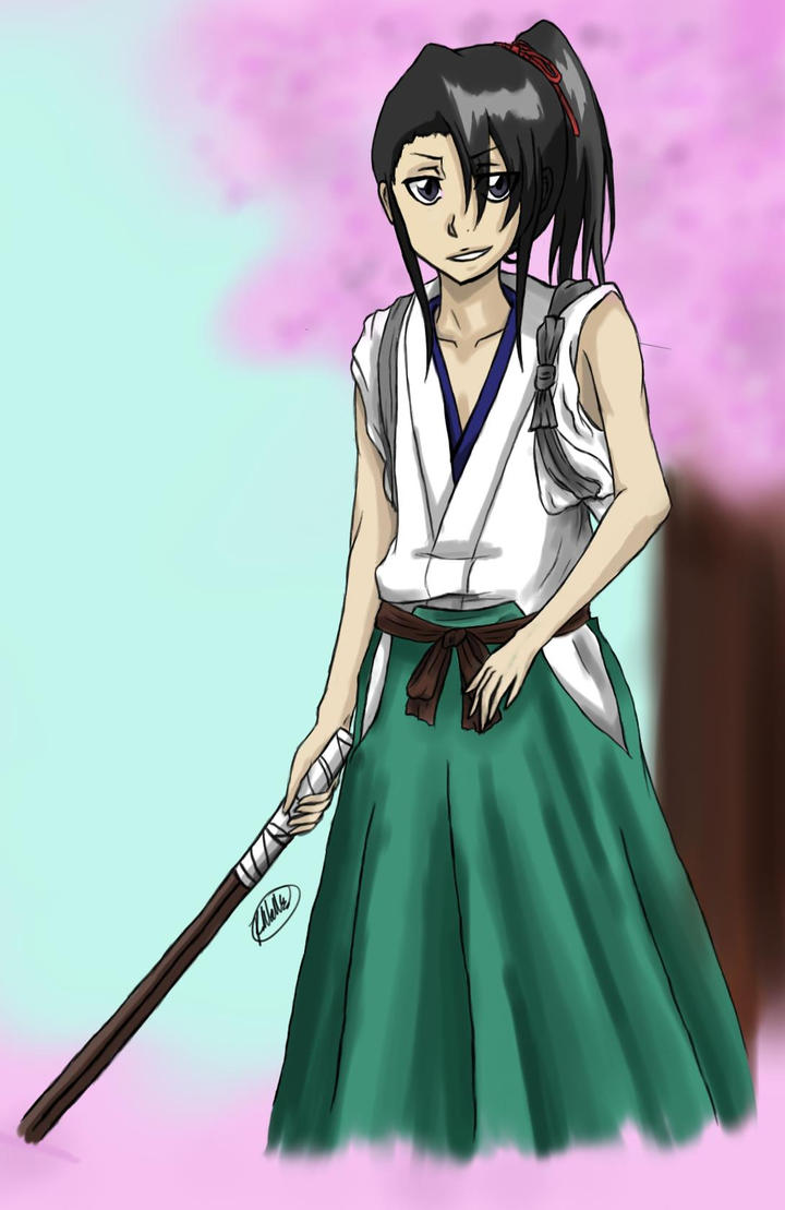 Young Byakuya.. again XD by SaberTigre