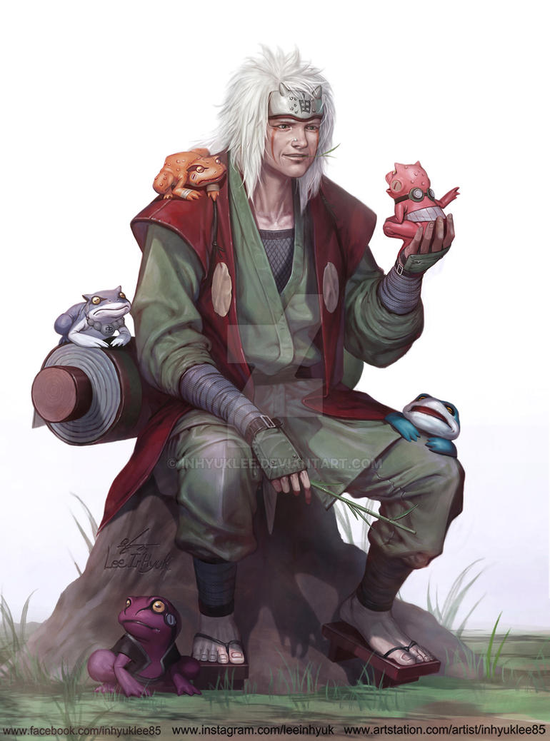 toad sage jiraiya by inhyuklee on deviantart