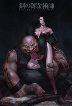 Full Metal Alchemist  Lust and Gluttony