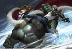 One Punch Man - Deep sea king vs Genos