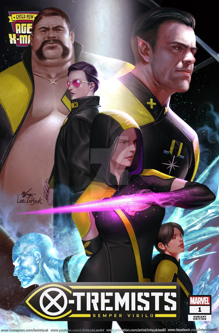 Age Of X-man X-tremists #1 by inhyuklee