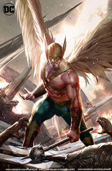 DC comics Hawkman15