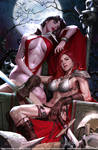 VAMPIRELLA and RED SONJA