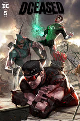 DCEASED #5 (DC comics/ Midtown Exclusive Cover A)