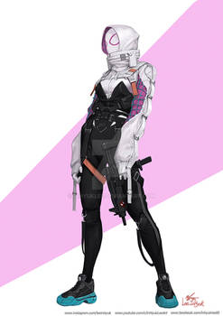 Spider Gwen Tech wear