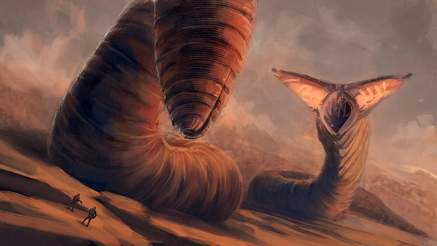 sandworms by pollux101