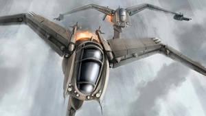 terran wraiths in flight