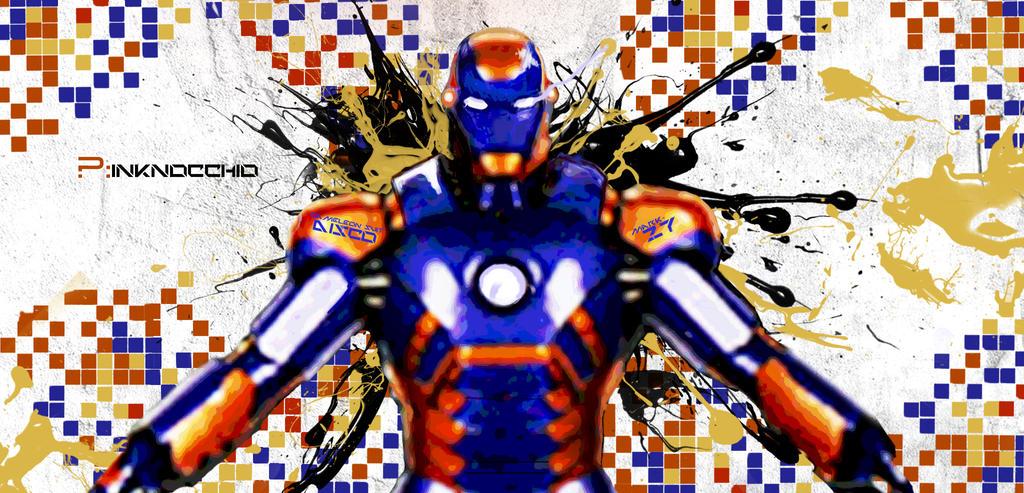 Mark xxvii iron man cartoon