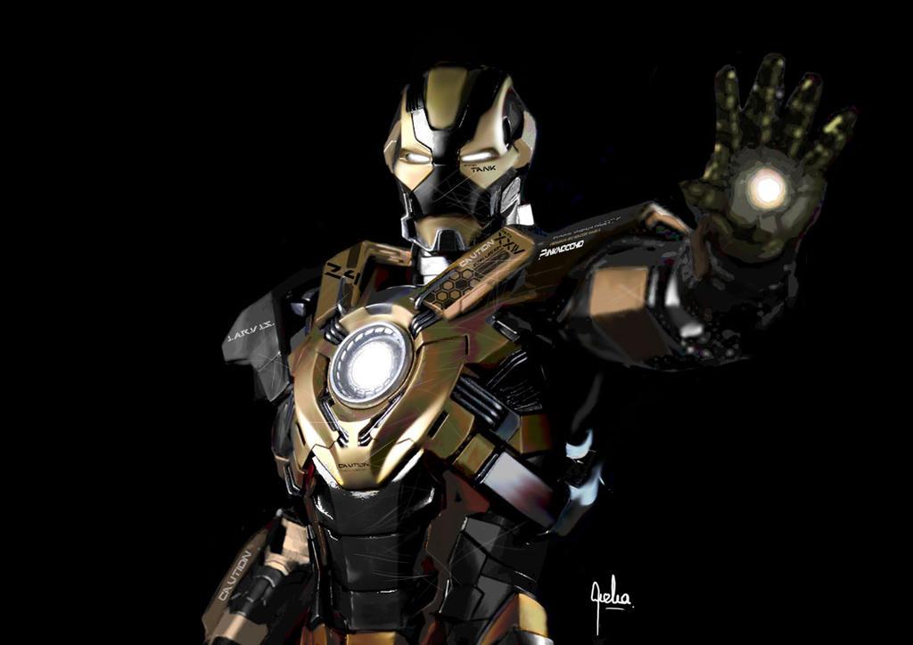 Iron man Mark XXIV Tan...