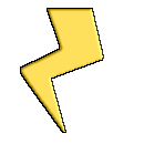 Lighting Bolt Icon by generichero