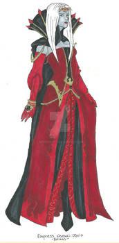 Empress Narraki- Formal -Colored
