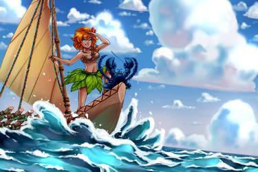 Pacific Princess - Patreon Reward - SatraThai by Chobittsu-Studios