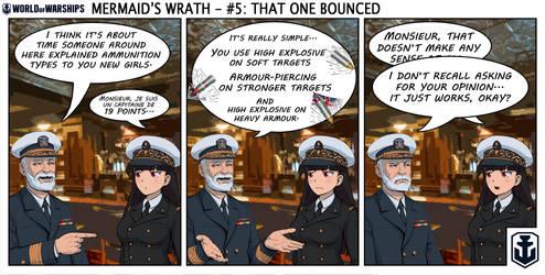 Naval Nonsense - Mermaid's Wrath 5 by Chobittsu-Studios