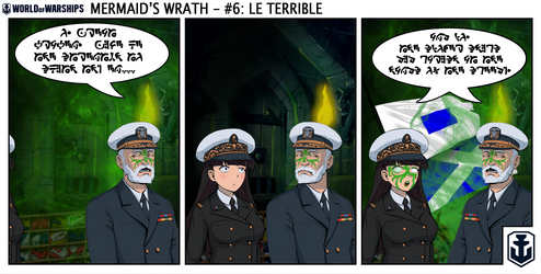 Naval Nonsense - Mermaid's Wrath 6 by Chobittsu-Studios