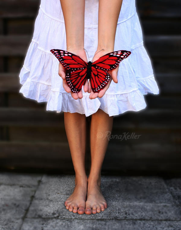 butterfly kisses by Rona-Keller