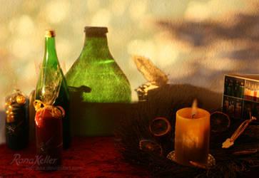 christmas lights by Rona-Keller